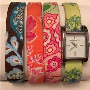 Vera Bradley watch set.